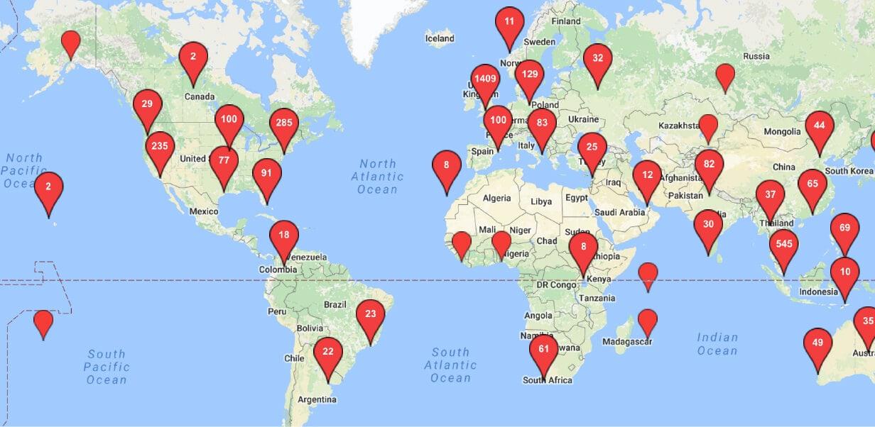We've Got 7,432 Creators Worldwide